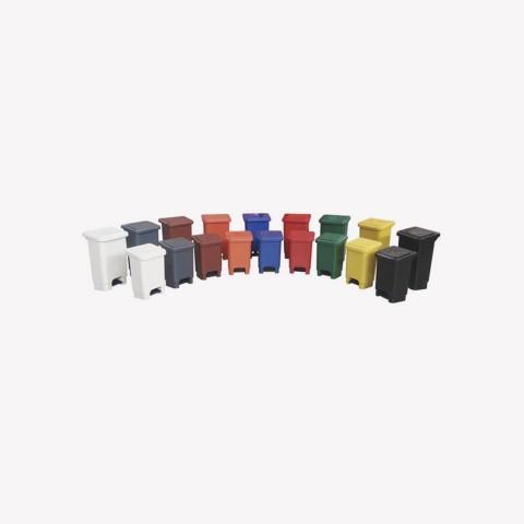 Lixeira quadrada 25 Litros com pedal plástico LP