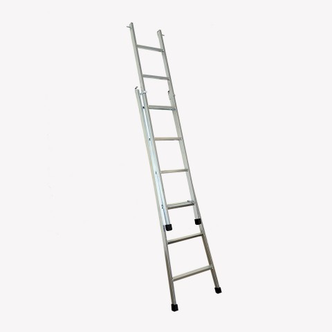 Escada articulada e expansível com 6 degraus