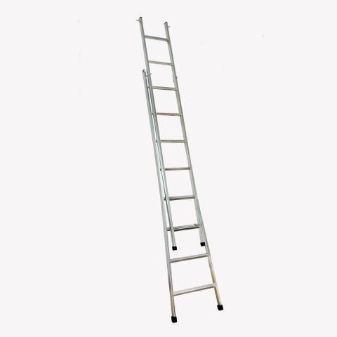Escada articulada e expansível com 8 degraus